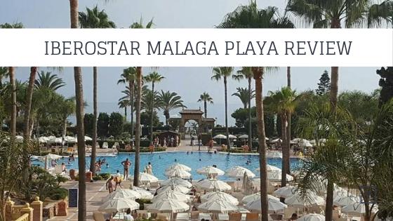 iberostar malaga playa review featured image of pool