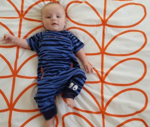 rlt in blue matthew williamson jumpsuit from mothercare