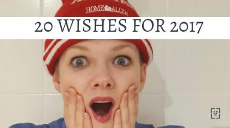 Twenty wishes for 2017