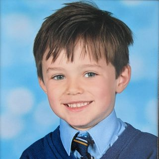 School photo spam 📸 I sent him to school with perfect hair that day, but I'm glad he messed it up because he wouldn't be him without his Ralph Wiggum hair. . He's had a bit of a testing year as a 4 year old to say the least. Can't believe he will be 5 soon 😭